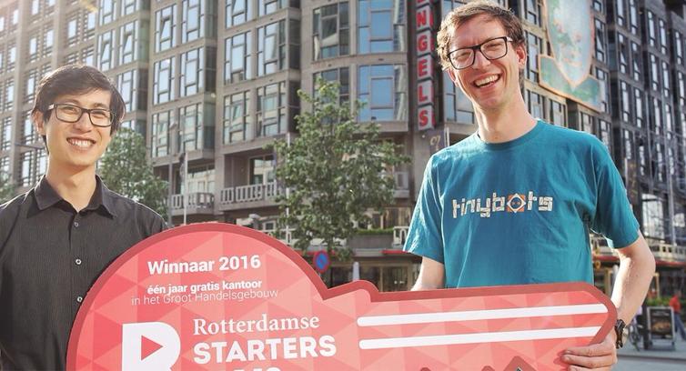 Tinybots wint Rotterdamse Startersprijs