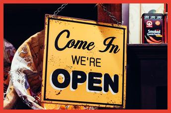 Winkel openen