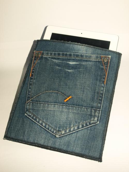 iPad hoes van jeans of spijkerbroek