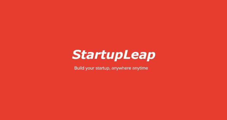 StartupLeap biedt gratis online programma voor techbedrijven