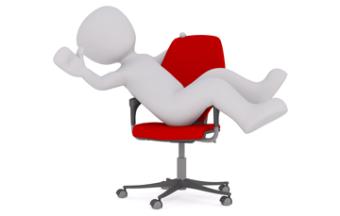 bureaustoel verzekerd met inboedelverzekering