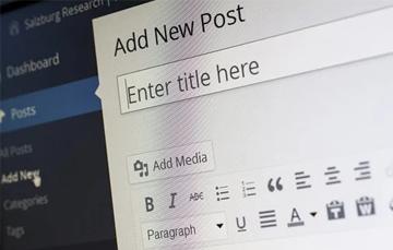 WordPress-website maken