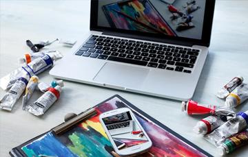 Webdesign: het uitwerken van een vormgeving naar een website