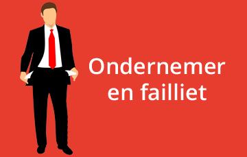 Ondernemer en failliet