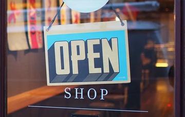 Een pop-up store openen