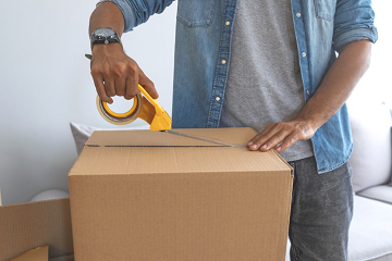 Een pakket versturen met andere afmeting of gewicht